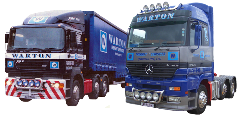 Warton Freight Services (Northern) Ltd Wagon
